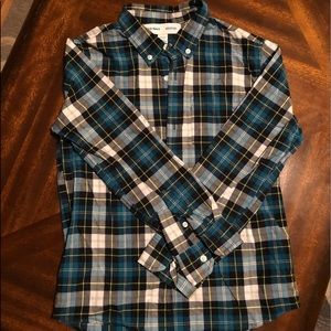 Old navy boys button down shirt